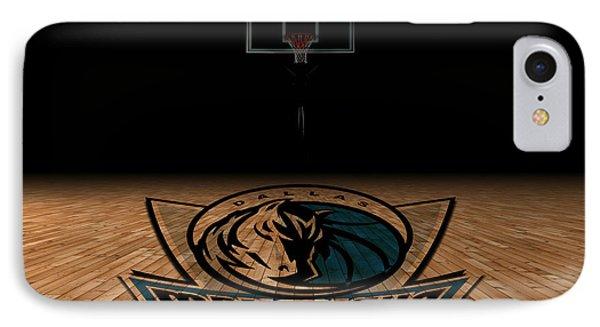 Dallas Mavericks IPhone Case by Joe Hamilton