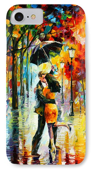 Dance Under The Rain IPhone Case by Leonid Afremov