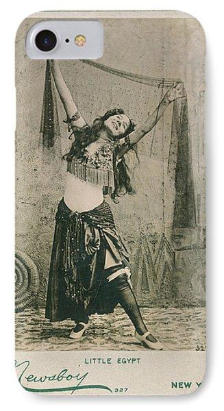 Dancer Little Egypt, 1893 IPhone Case