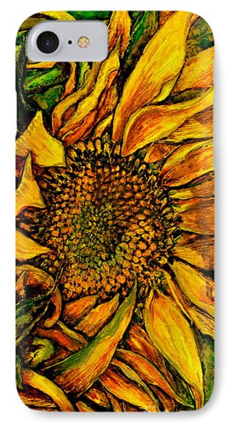 Dancing In The Sun Phone Case by Linda Simon
