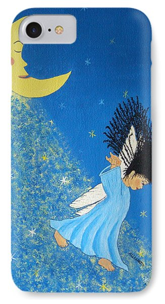 Dancing On Moonbeams IPhone Case by Pamela Allegretto