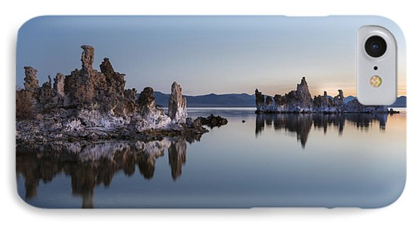 Dawn On Mono Lake Phone Case by Sandra Bronstein
