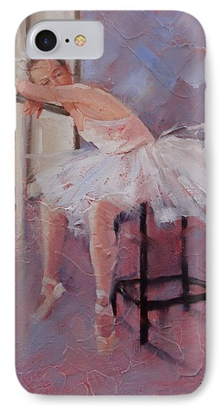 Day Dreamer IPhone Case by Laura Lee Zanghetti
