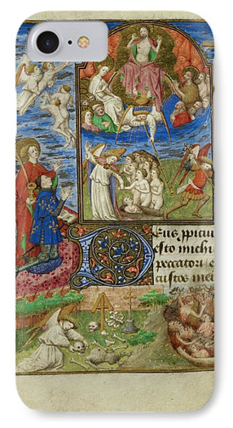 Day Of Judgement IPhone Case by British Library