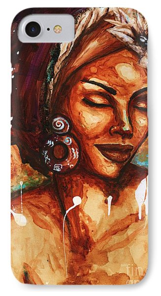 IPhone Case featuring the painting Daydreaming Too by Alga Washington