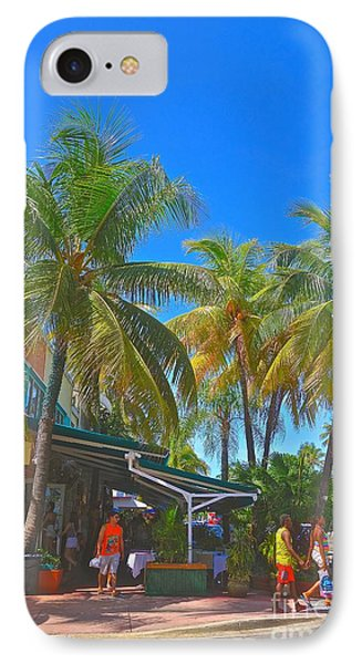IPhone Case featuring the photograph Deco Drive by Judy Kay