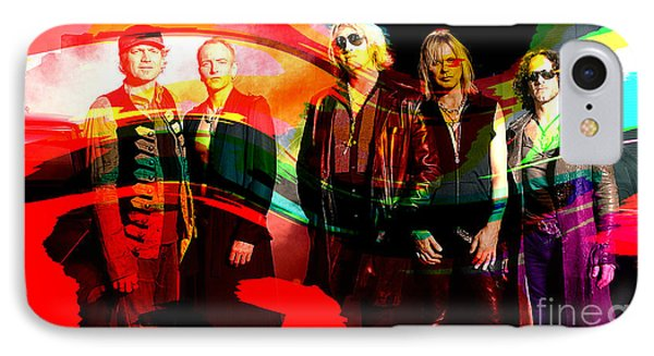 Def Leppard IPhone Case by Marvin Blaine