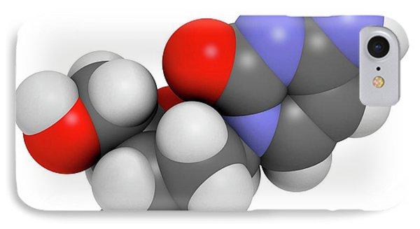 Deoxycytidine Nucleoside Molecule IPhone Case