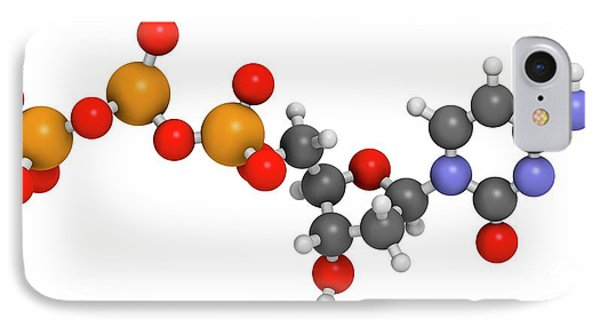 Deoxycytidine Triphosphate Molecule IPhone Case by Molekuul