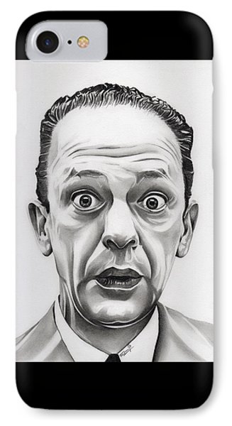 Deputy Barney Fife IPhone Case by Fred Larucci