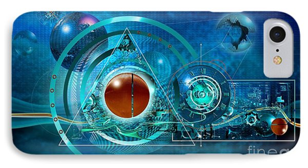 Digital Genesis IPhone Case by Franziskus Pfleghart