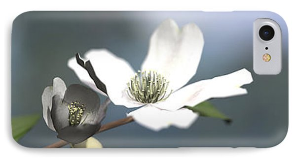 Dogwood Phone Case by Cynthia Decker