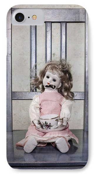 Doll With Tea Cup IPhone Case