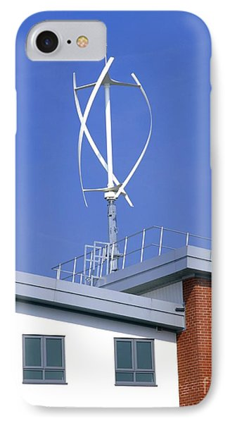 Domestic Micro Wind Turbine IPhone Case