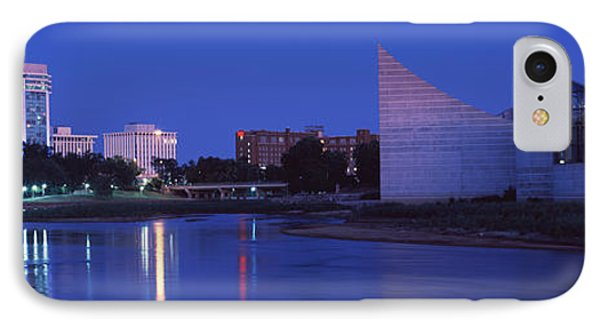 Downtown Wichita Viewed From The Bank IPhone Case