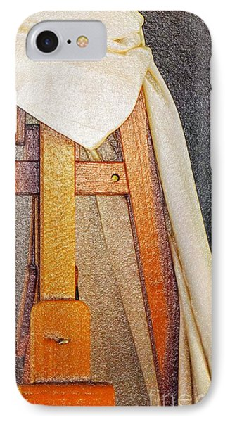 Draped Easel IPhone Case by Lilliana Mendez