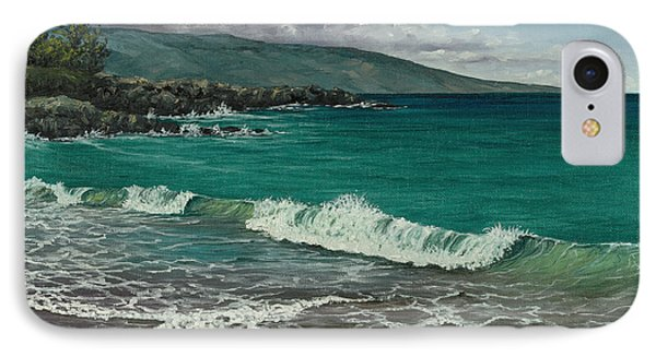 IPhone Case featuring the painting Dt Fleming Beach by Darice Machel McGuire