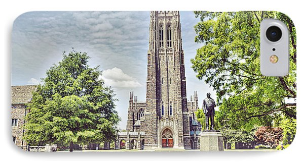 Duke Chapel In Spring IPhone Case