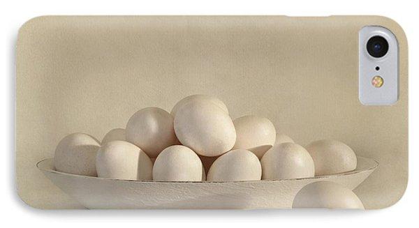 Eggs Phone Case by Priska Wettstein