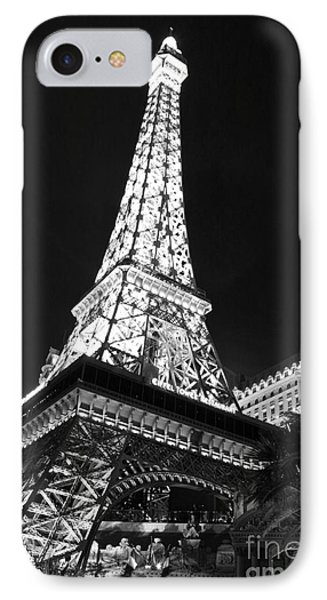 Eiffel Tower IPhone Case by Kevin Ashley