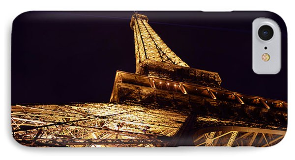 Eiffel Tower Paris France IPhone Case by Patricia Awapara