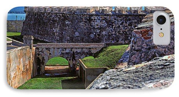 El Morro Fortress Old San Juan Phone Case by Thomas R Fletcher