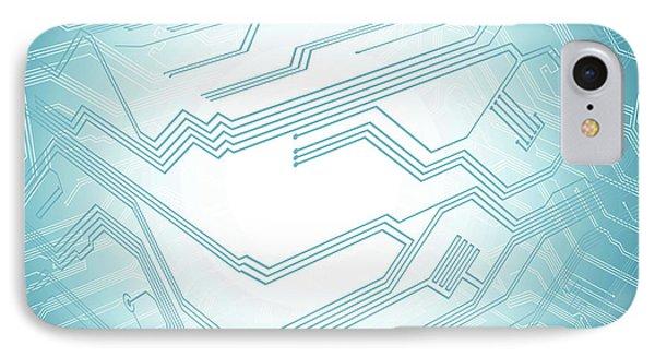 Electronic Circuit IPhone Case
