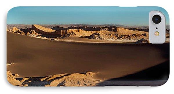 Elevated View Of Desert, Valle De La IPhone Case