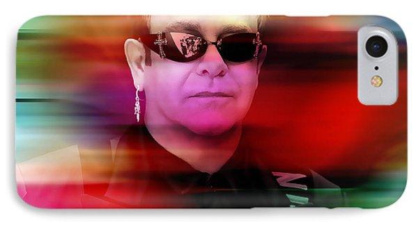 Elton John iPhone 7 Case - Elton John by Marvin Blaine