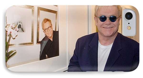 Elton Watching Elton IPhone Case by Philip Shone