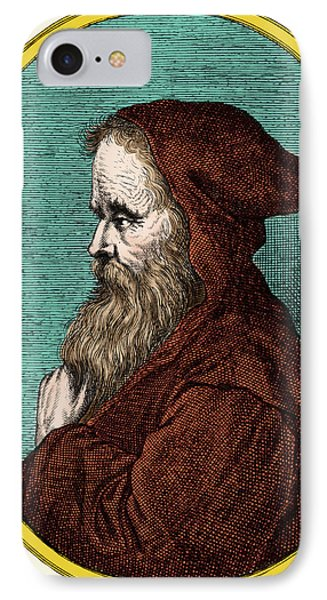 Empedocles, Ancient Greek Philosopher IPhone Case by Science Source