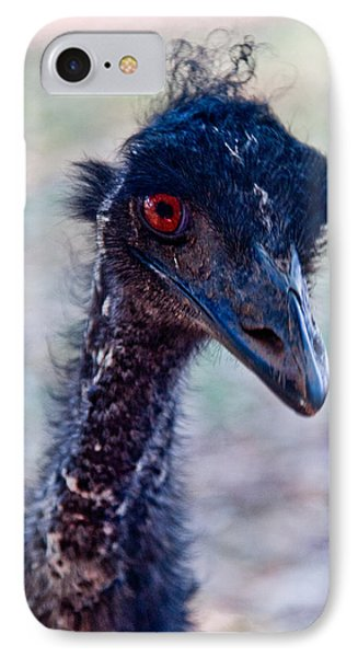 Emu IPhone Case by Carole Hinding