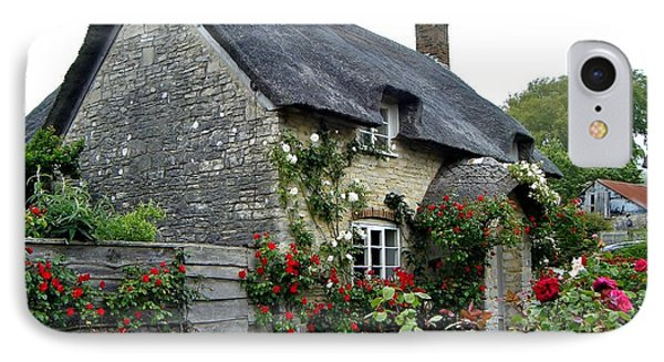 English Cottage  IPhone Case by Katy Mei