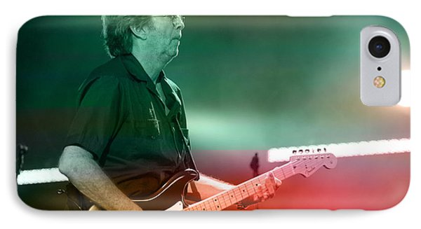 Eric Clapton IPhone Case by Marvin Blaine