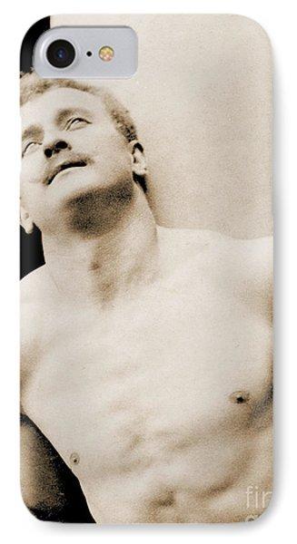 Eugen Sandow Phone Case by George Steckel