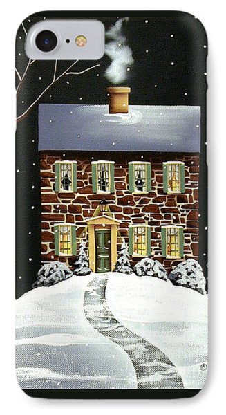 Evergreen Cottage Phone Case by Catherine Holman