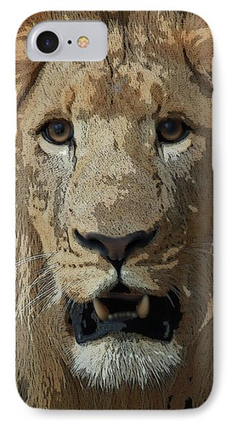 IPhone Case featuring the photograph Eye Contact by Joseph G Holland