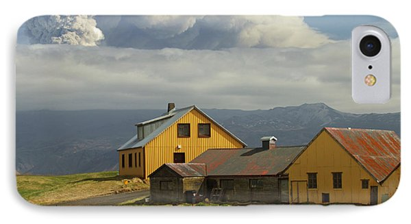 Eyjafjallaj�kull Ash Cloud, Iceland Phone Case by Stephen & Donna O'Meara