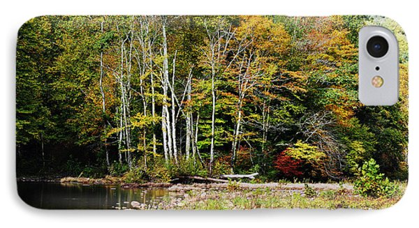 Fall Color River Phone Case by Thomas R Fletcher