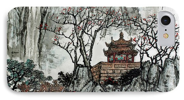 IPhone Case featuring the photograph Fall Colors by Yufeng Wang