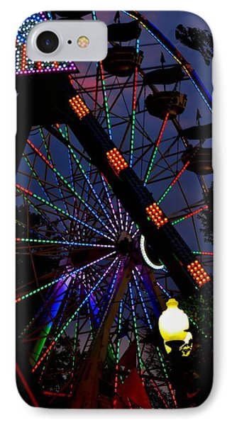 Fall Festival Ferris Wheel Phone Case by Deena Stoddard