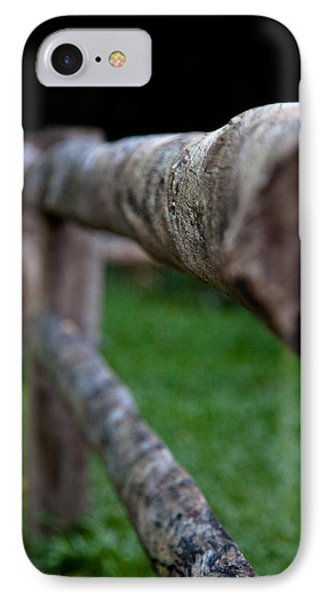 IPhone Case featuring the photograph Farm Fence by Carole Hinding