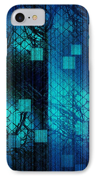 IPhone Case featuring the photograph Fenced In by Steve Godleski