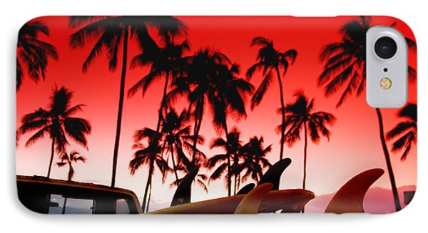 Fins N' Palms IPhone Case by Sean Davey