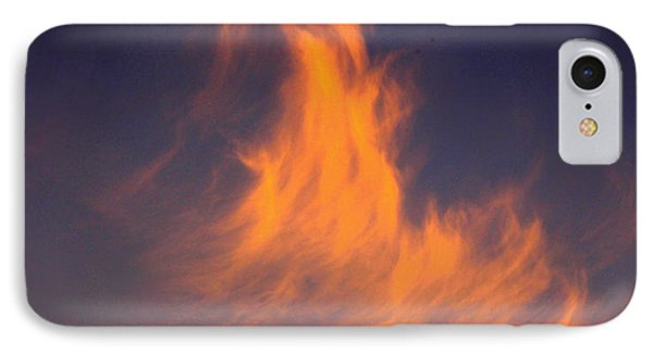 Fire In The Sky IPhone Case by Jeanette C Landstrom
