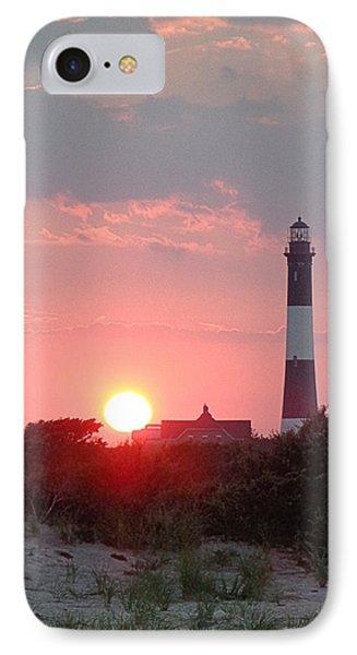Fire Island Sunset IPhone Case