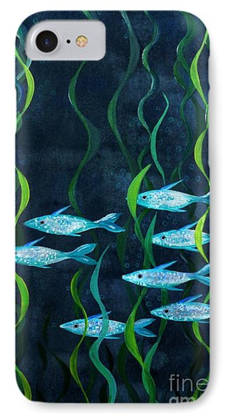 Fish IPhone Case by Barbara Moignard
