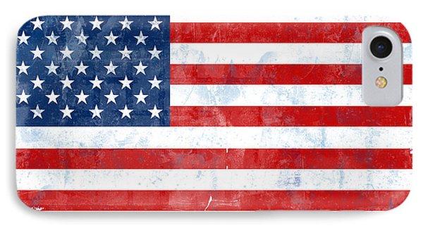 Flag Of Usa Phone Case by Modern Art Prints