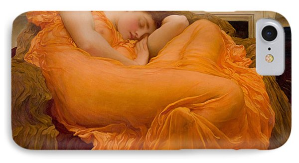 Flaming June IPhone Case by Frederick Leighton