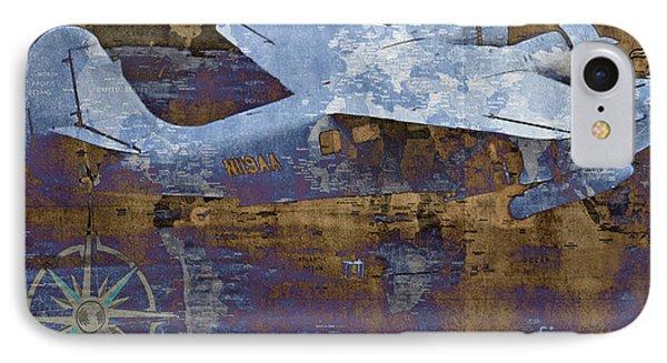 Flight Phone Case by Molly McPherson